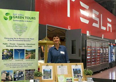 Bay Area Green Tours Dispay Collateral