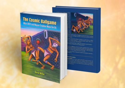The Cosmic Ballgame Book Cover & Inside Design & Production