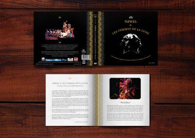 Nawal & Les Femmes de La Lune LIve - CD/DVD
