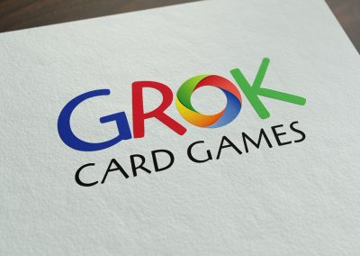 GROK Card Games Logo