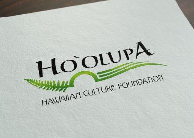 Ho'olupa  logo design