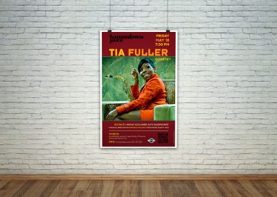 Kuumbwa Jazz Center - Poster Template