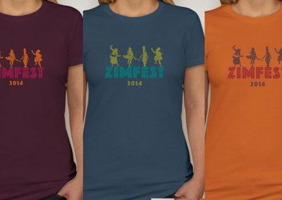 Zimbabwean Music Festival Tshirts