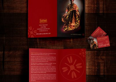 Mah Damba - Brochure & Business Card