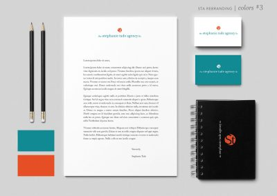 Stephanie Tade Agency Branding