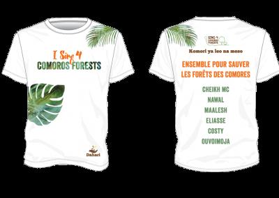 Sing 4 Comoros T-shirt
