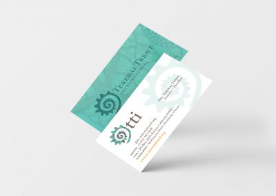 Business Cards for Tererai Trent International