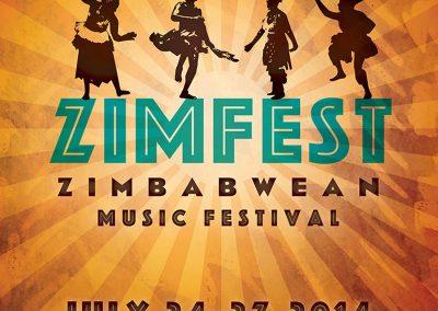 Zimbabwean Music Festival Poster
