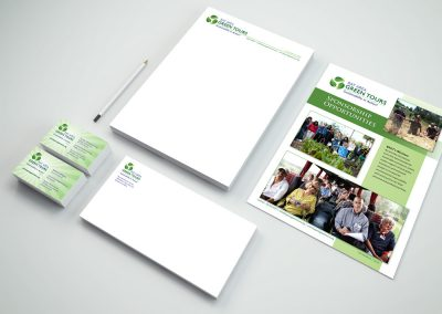 Branding Collateral for Bay Area Green Tours