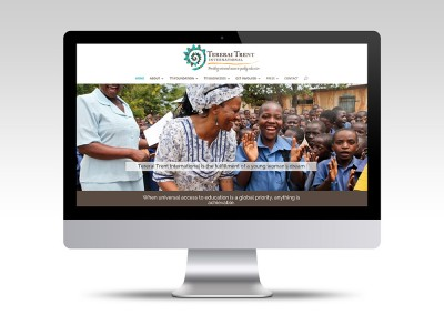 Website Branding for Tererai Trent International - tererai.org
